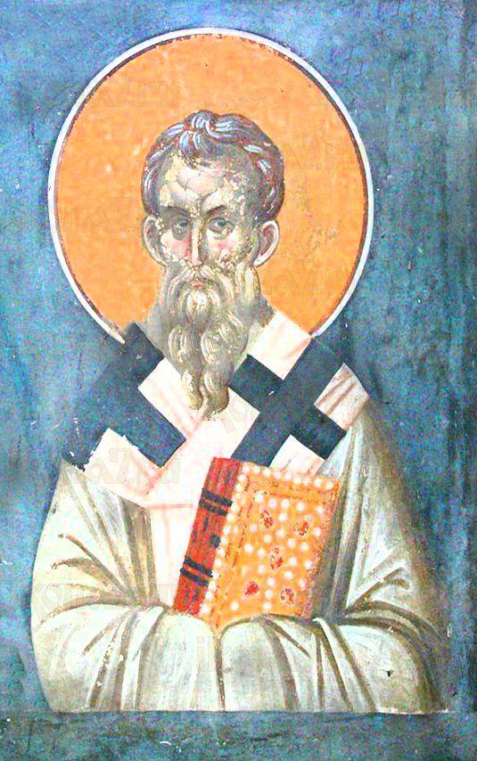 Карп Фиатирский (рукописная икона)