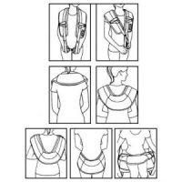Ударный массажер для шеи и плеч Cervical Massage Shawls (8)