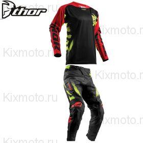 Форма Thor Fuse Ramp, Черно-красная