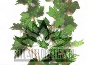 """Искусственная зелень"""" Лиана"""" 1 ветка, 32 листа, 3 метра."""