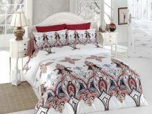 """Комплект постельного белья """"KARNA"""" Сатин DELUX  1.5-спальный   Арт.461/9-15"""