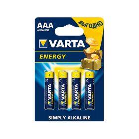 """Алкалиновая батарейка ААА/LR03 """"Varta"""" 1.5v 4 шт"""