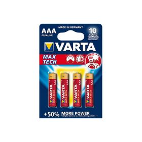 "Алкалиновая батарейка ААA/LR03 ""Varta"" 1.5v 4 шт"