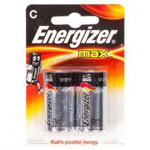 """Алкалиновая батарейка C/R14 """"Energizer"""" 1.5v 2 шт"""