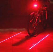 Задний фонарь с лазерным коридором безопасности