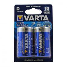 "Алкалиновая батарейка D/LR20 ""Varta"" 1.5v 2 шт"
