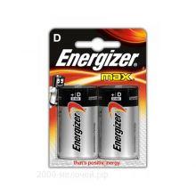 """Алкалиновая батарейка D/LR20 """"Energizer"""" 1.5v 2 шт"""