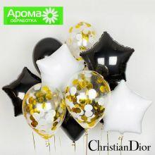 Гелиевые шары кристиан диор