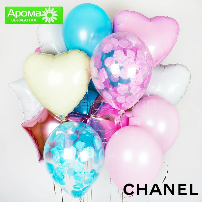 Набор арома шаров Chanel №5