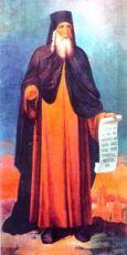 Киприан Устюжский (рукописная икона)