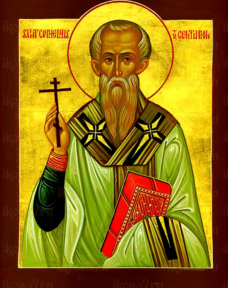 Корнилий Сотник (рукописная икона)