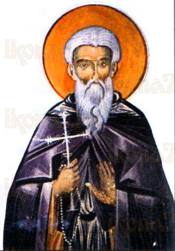 Косма Зографский (рукописная икона)