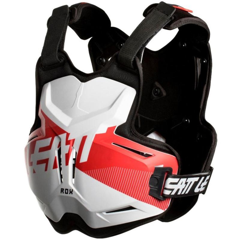 Leatt - 2019 Chest Protector 2.5 ROX White/Red защитный жилет, бело-красный