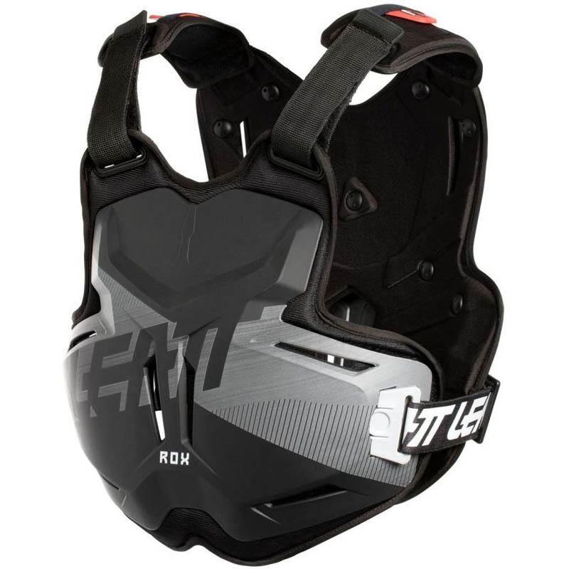 Leatt - 2019 Chest Protector 2.5 ROX Black/Brushed защитный жилет, черный