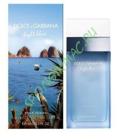 "Туалетная вода Dolce Gabbana ""Light Blue Love in Capri"" 100 ml"