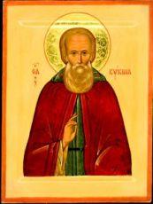 Кукша Одесский (рукописная икона)