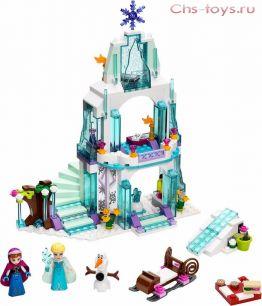 Конструктор Lari Ice Enchanted Ледяной замок Эльзы 10435 (41062) 297 дет