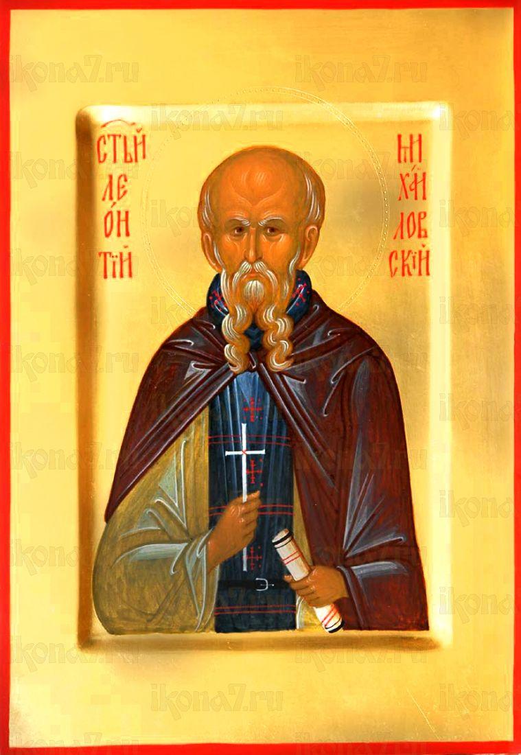 Леонтий Михайловский (Стасевич)  (рукописная икона)
