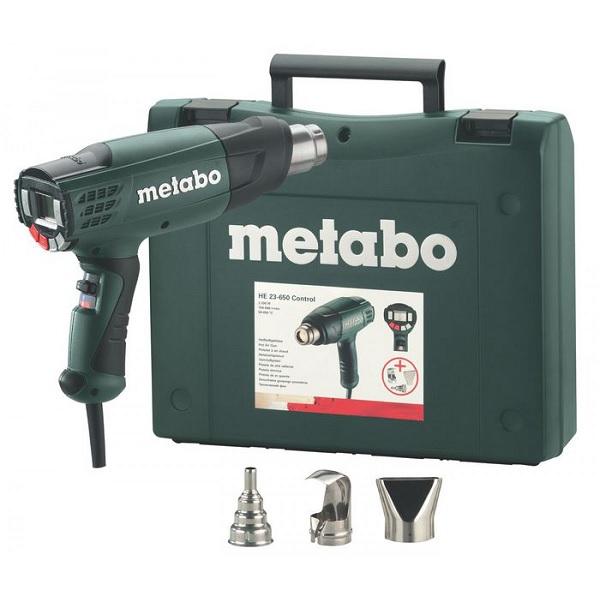 Фен технический Metabo He 23-650 control с насадками (602365500)