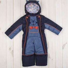Комбинезон для мальчика, рост 80 см, цвет синий/голубой Ш-0041_М