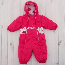 Комбинезон для девочки, рост 74 см, цвет розовый 245т_М