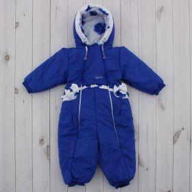 Комбинезон для девочки, рост 74 см, цвет синий 245т_М