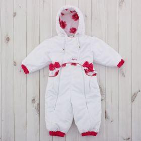 Комбинезон детский, рост 74 см, цвет розовый 245т_М