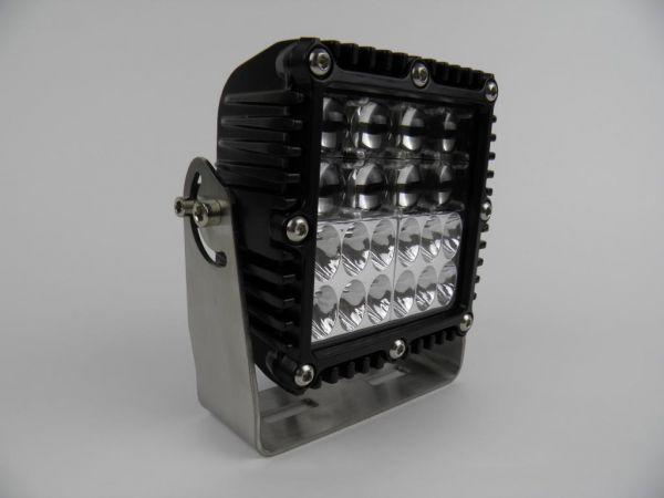 Усиленная светодиодная фара-прожектор комбинированного света 76W