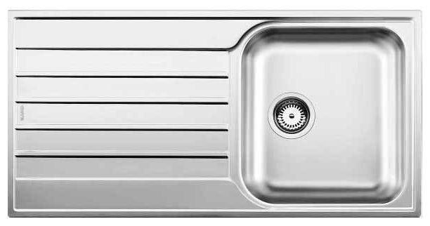 Кухонная мойка Blanco Livit 45S Salto нерж. сталь  Декор   без клапана-автомата 514786