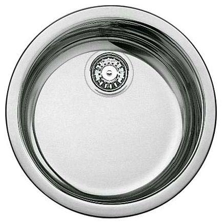 Кухонная мойка Blanco Rondosol сталь полированная 513306