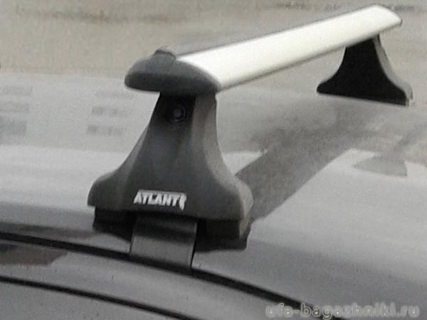 Багажник на крышу Skoda Octavia A5, Атлант, крыловидные дуги, опора Е