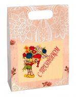 Подарочный набор из махрового полотенца №0-83
