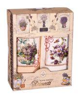 Подарочный набор вафельных полотенец (2шт) №0-71