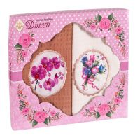 Подарочный набор вафельных полотенец (2шт) №0-70
