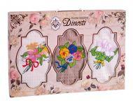 Подарочный набор вафельных полотенец (3шт) №0-30