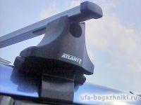 Багажник на крышу Skoda Fabia MK2 универсал, Атлант, прямоугольные дуги