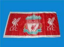 Флаг футбольный Ливерпуль 90х150 см