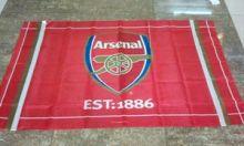 Флаг футбольный Арсенал 90х150 см