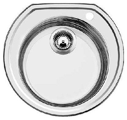 Кухонная мойка Blanco Rondoval сталь полированная (513313)