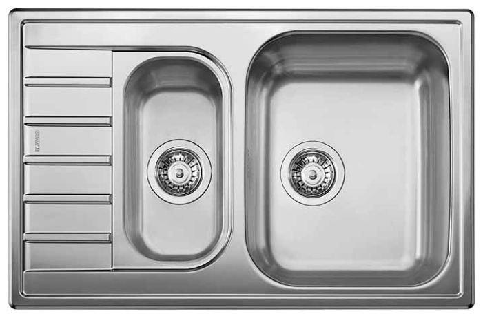 Кухонная мойка Blanco LIVIT 6 S Compact сталь полированная 515117