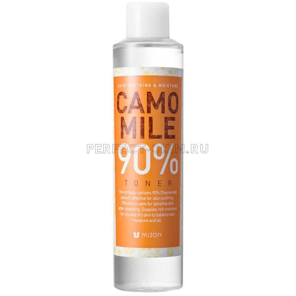 Mizon Camomile 90% Toner 210ml