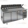 Стол холодильный для пиццы HICOLD PZ2-111/GN (1/6)