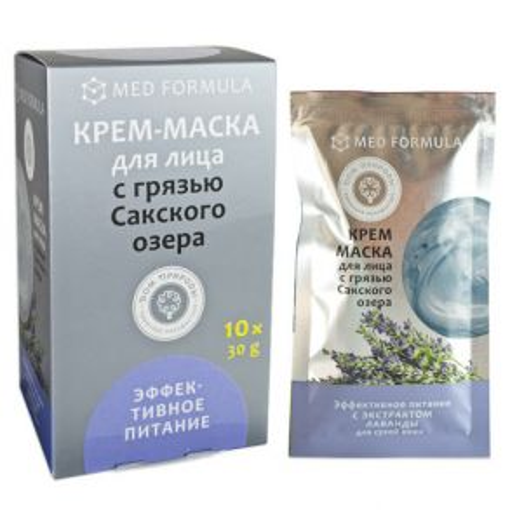 Крем-маска с грязью Сакского озера Эффективное питание