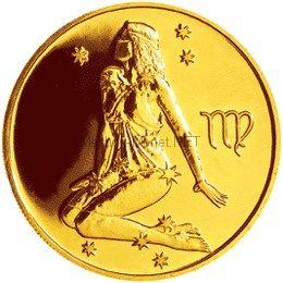 50 рублей  2003  год Дева