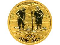 50 рублей 2011 год Керлинг
