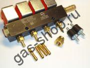 Рампа форсунок VALTEC тип 30 (на 4 цилиндра) - 3 ом
