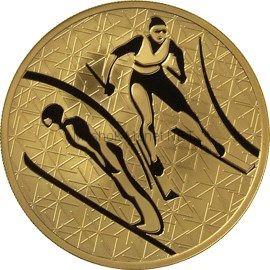 200 рублей 2010 год Лыжное двоеборье