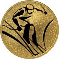 200 рублей 2010 год Горнолыжный спорт