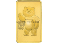 100 рублей 2012  год Белый Mишка