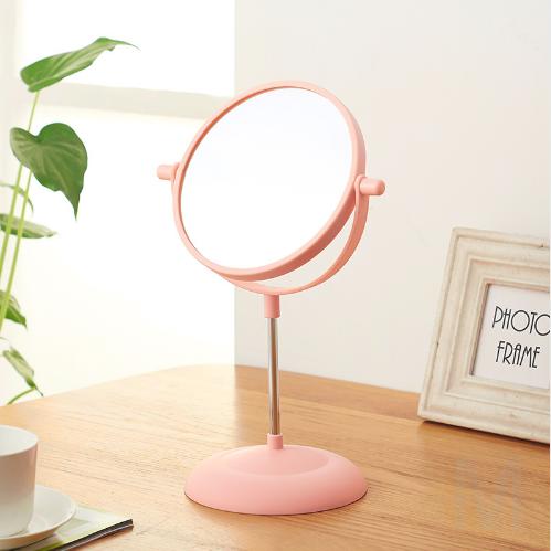 Двусторонне вращающееся зеркало для макияжа на подставке